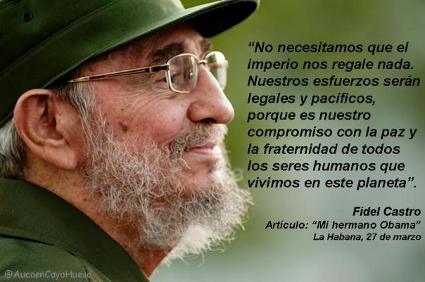 Fidel Castro Mi hermano Obama