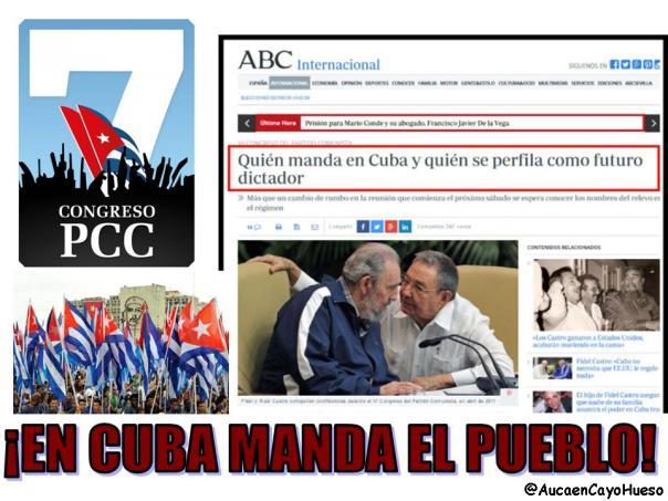 En Cuba manda el pueblo