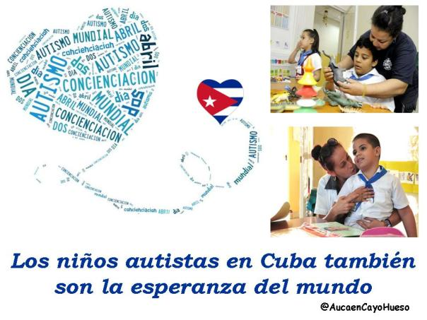 Los niños autistas en Cuba también son la esperanza del mundo