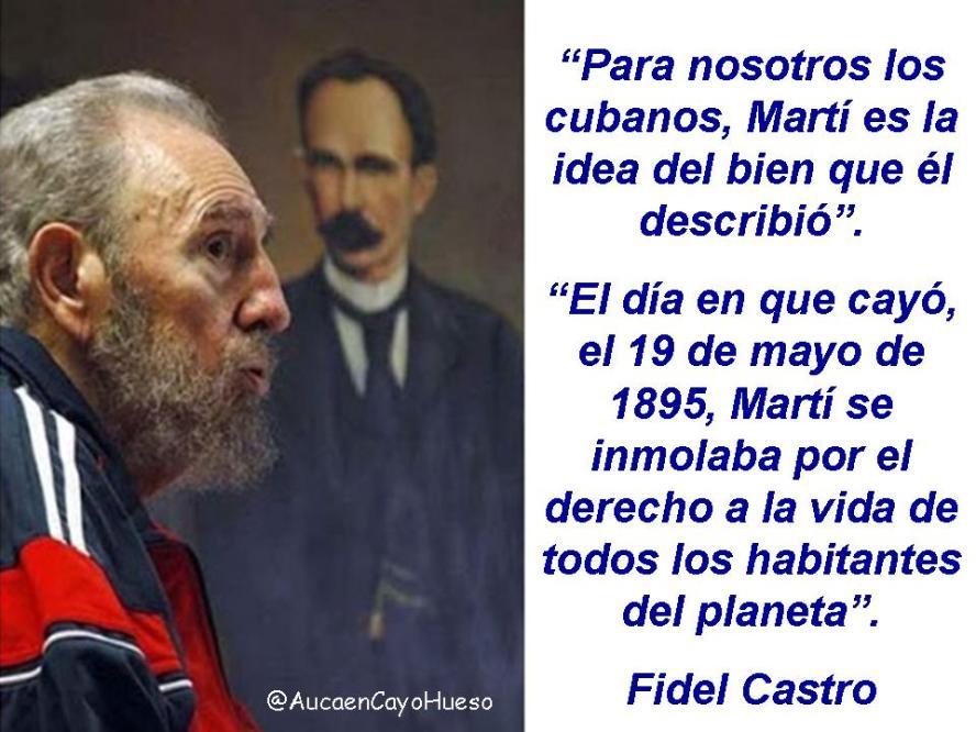 Fidel Castro Qué significa Martí para los cubanos