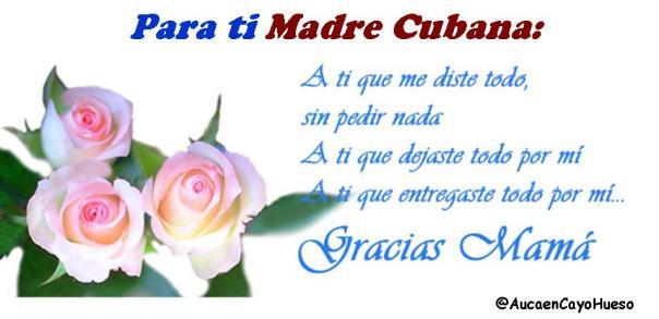 Para ti madre cubana