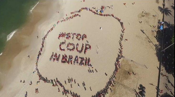Stop Golpe de Estado en Brasil