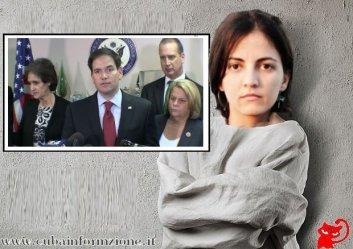 #Rosa María Payá una #agente del #Gobierno norteamericano.