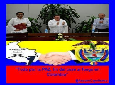 Gobierno de #Colombia y #FARC-EP firman nuevo acuerdo de #paz