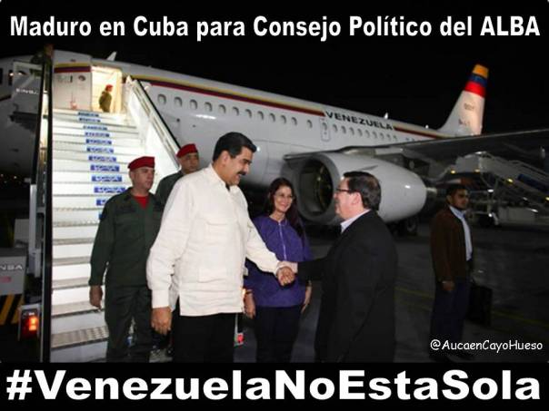 Nicol S Maduro En Cuba Para Presidir Xv Consejo Pol Tico Del Alba Auca En Cayo Hueso