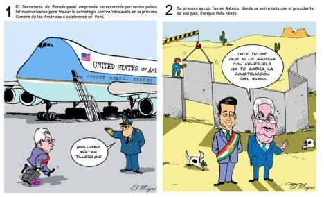 Secretos de Rex Tillerson en su gira por América Latina